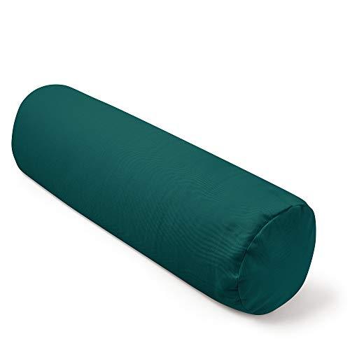 Present Mind Yoga Bolster - Yogakissen Ø20 cm - 100% natürliche Yogarolle