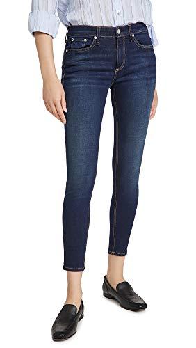 rag & bone Women's Cate Mid Rise Ankle Skinny Jeans, Carmen, Blue, 26