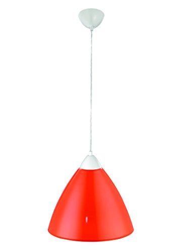 Pendelleuchte BISTRO Hängeleuchte Lampe Leuchte Strahler Bunt Rund Metallschirm orange ∅35cm FLI 216621