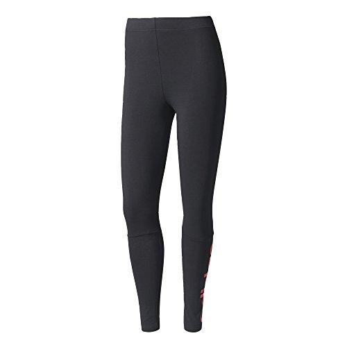 adidas Damen ESS Lin Tight Leggings, Nero (Nero/rosbas), XS/S
