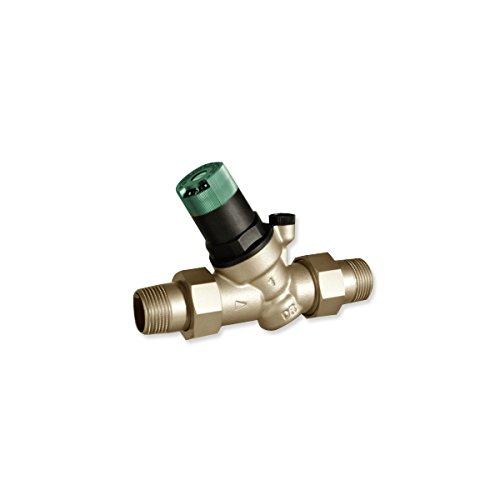 Honeywell D05FS-1/2A - Riduttore di pressione con manometro scala per acqua fino a 70 ° c, aria compressa e nitógeno