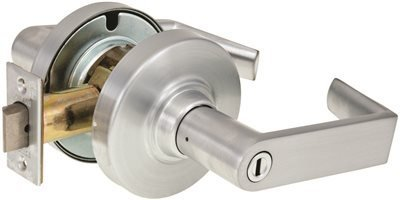 Schlage ND40S RHO 626 13-048 10-025 Cylindrical Lock, Privacy Function, Keyless, Rhodes Design, Satin Chrome Finish