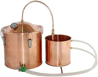 3 Gallon Water Distiller Copper Pot Moonshine Still Boiler Home Brew Kit