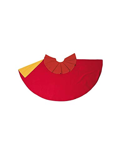 DISBACANAL Capote de torero Rojo-Amarillo Infantil