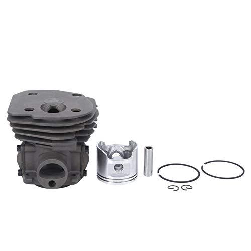 EVTSCAN Último kit de cilindro de motosierra, cilindro de herramienta eléctrica, accesorios de herramientas de hardware Cilindro de motosierra pistón de aluminio de 45 mm de diámetro para moto