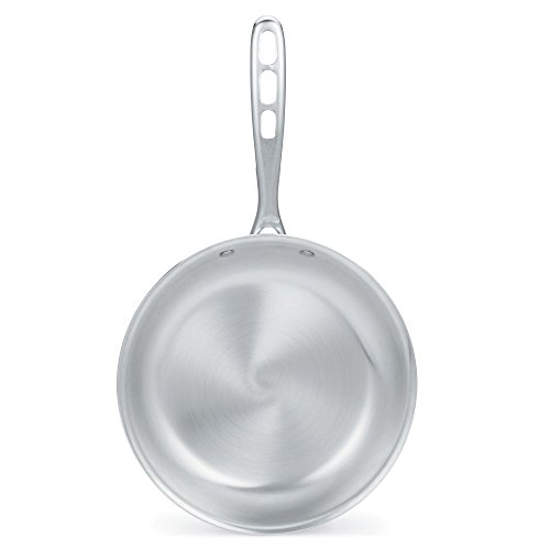 """Vollrath 67112 Wear-Ever Aluminum Fry Pan with TriVent Chrome Plated Handle, 12"""""""