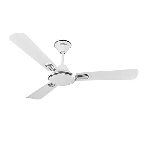 Havells Festiva 1200mm Ceiling Fan (Pearl White Silver)