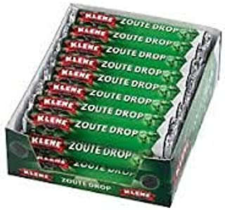 Klene Zoute Rol Drop (Salty Roll Licorice) 24 rolls