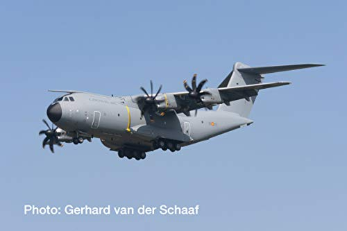 Herpa 533348 Spish Air Force Airbus A400M Atlas Wings/vliegtuig om te verzamelen, meerkleurig