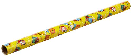 Anker Kids Mix Geschenkpapier, Kunststoff, mehrfarbig, 3 m x 69 cm