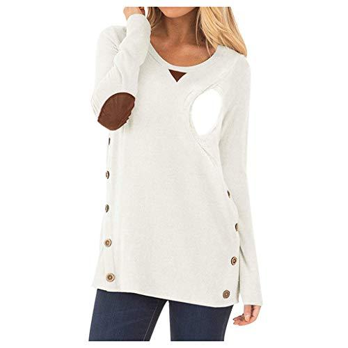 Lenfesh moda ciążowa, duże rozmiary, moda dla kobiet w ciąży 2 w 1, sweter ciążowy, sweter ciążowy, top do karmienia, koszulka do karmienia, długa tunika, top, moda ciążowa, odzież