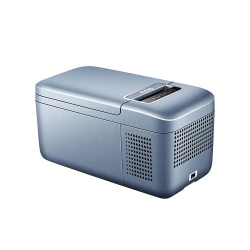 Qrey ポータブル冷蔵庫 車載 冷蔵冷凍庫 クーラーボックス ドライブやキャンプに (6L) (Grey)