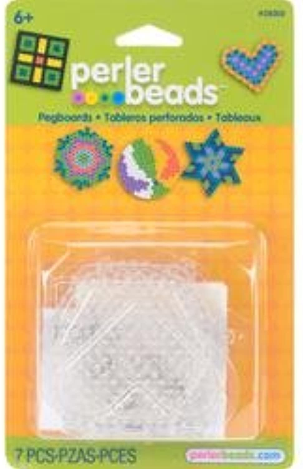 Bulk Buy  Perler Perler Perler Fun Fusion Bead Pegboards 5 Pkg Circle Star Heart Hexagon Square 2800 (3-Pack) B003K21CL6 | Verkaufspreis