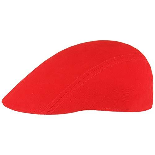 Swing Flatcap Schildmütze Schiebermütze Schirmmütze (One Size - rot)