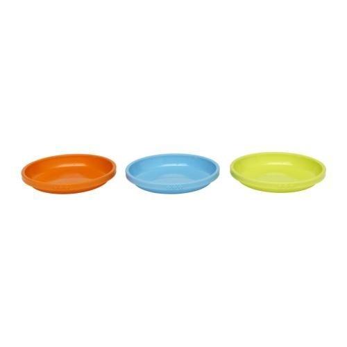 Ikea smaska–Plate–Confezione da 3Pezzi
