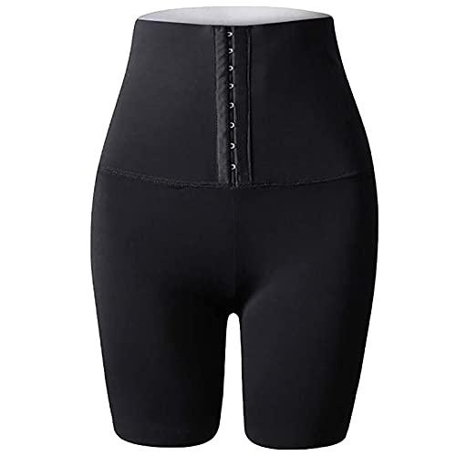 GYYlucky Pantalones De Chándal para Mujer para Bajar De Peso, Pantalones De Sauna 2 En 1 para Mujer, Pantalones De Yoga con Control De Abdomen De Cintura Alta, Pantalones De Entrenamiento para Correr