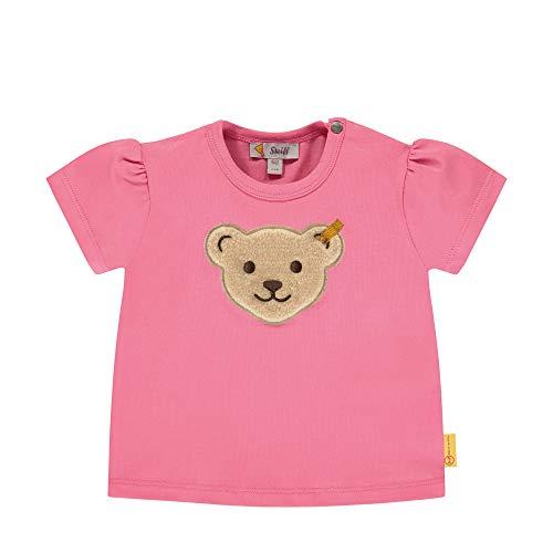 Steiff Mädchen T-Shirt, Rosa (Pink Carnation 3019), 86 (Herstellergröße: 086)