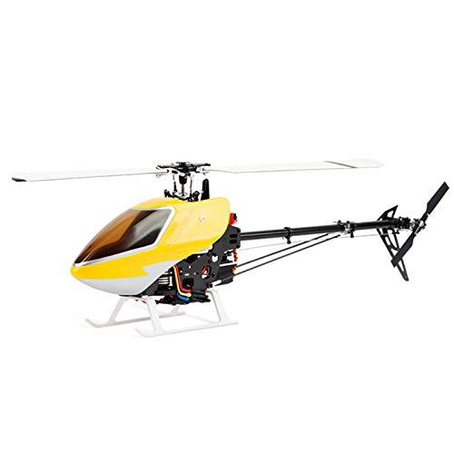 Modelo Remoto Helicóptero Combustible Súper Grande Gasolina Eléctrico Avión 3D Control De Vuelo De Helicóptero Punto De Autoestabilización Truco Seis Canales,Amarillo