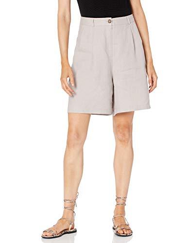 Marque Amazon - Short Millie Plissé - Couture Intérieure 17,8 Cm. - Shorts - Short Millie plissé - Couture intérieure 17,8 cm. - Femme par The Drop