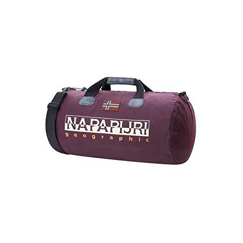 Napapijri Bolsa Grande de Deporte, Color Vino Púrpura, tamaño 0 cm