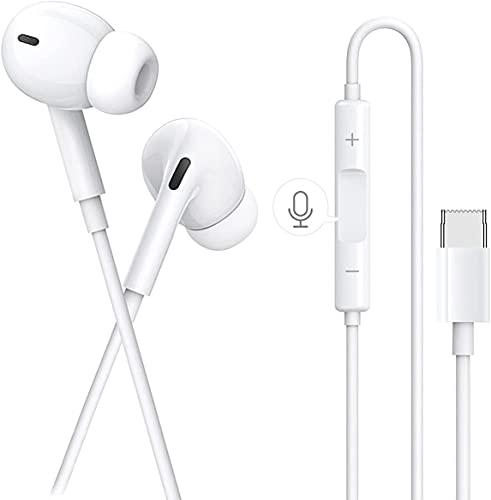 Auricolari per iPhone 11, Cuffie per iPhone 12, Auricolare per iPhone 7 stereo HiFi, Isolamento del Rumore, Bassi Potenti, Compatibile con iPhone 11 Pro 8 8 Plus 7 Plus XR XS X (bianco)