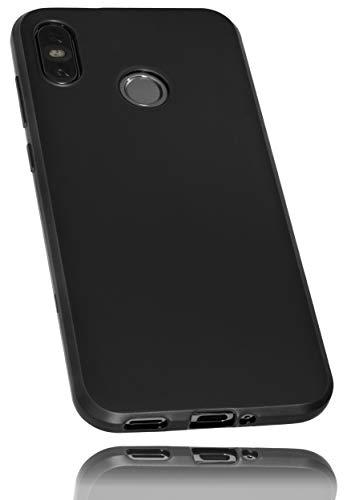 mumbi Hülle kompatibel mit HTC U12 Life Handy Case Handyhülle, schwarz