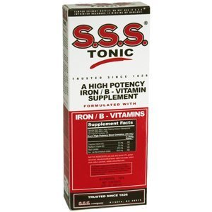 S.S.S. Tonic - Iron with Vitamin B Supplement - 100 mg / 20 mg Strength - Liquid - 10 Ounces