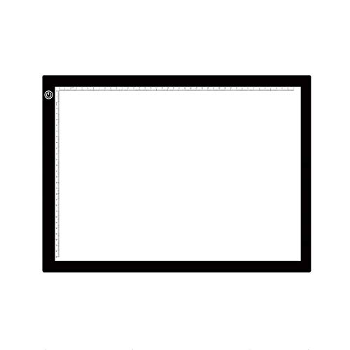 Led Tablero de Dibujo A3 Portátil USB LED Sketch Tablero de Dibujo Táctil Regulable Rastreo Tablero de Copiar Tablero de Luz de Mesa Almohadilla Usado para Diseño de Dibujos