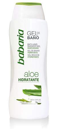 Babaria Fresh Sensations - Gel de baño hidratante con Aloe Vera, 600 ml, 1 unidad