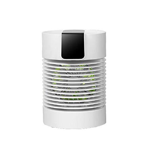 Akin Ventilador portátil enfriamiento agua 360 ° cabeza agitando mini USB aire acondicionado escritorio aire con tanque agua 500 ml 3 engranajes viento 36 dB bajo ruido ventilador para home oficina