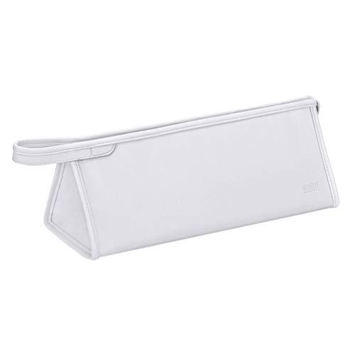 PIXNOR Secador de Pelo a Prueba de PVC Secador de Pelo Bolsa de Viaje Rizador de Pelo Llevar Bolsa de Viaje Organizador Bolsa de Maquillaje Bolsa de Tocador Bolsa de Plata