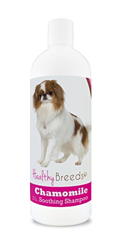Healthy Breeds Chamomile Dog Shampoo & Conditioner with Oatmeal & Aloe for Japanese Chin - OVER 200 BREEDS - 8 oz - Gentle for Dry Itchy Skin - Safe with Flea and Tick Topicals