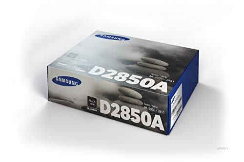 Samsung ML-D2850A/ELS Original Toner (Kompatibel mit: ML-2850/ML-2851 Series) schwarz