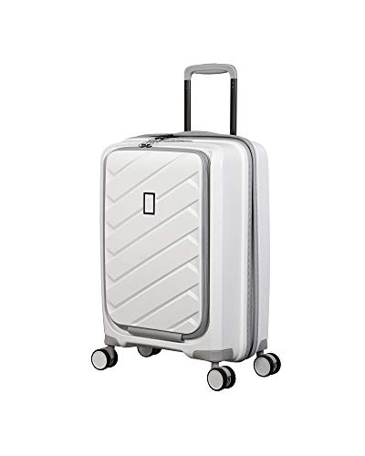 it luggage Influential Hardside Spinner, White, Carry-On 22-Inch