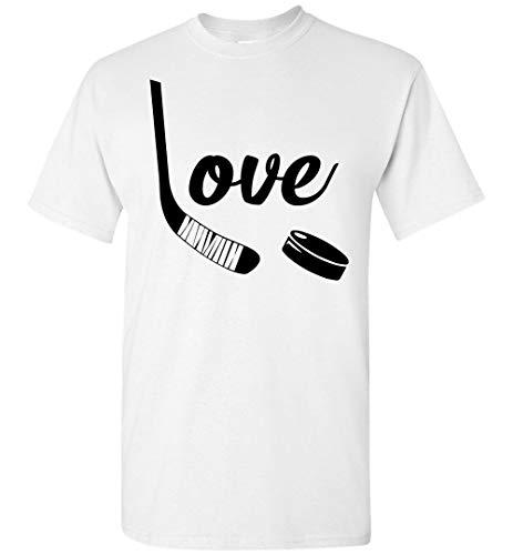 Love Hockey - Hockey sobre hielo para amantes del deporte, sudadera con capucha, camiseta personalizada, con capucha, personalizado