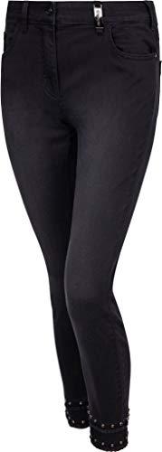 Sportalm Damen Jeans Größe 46 EU Schwarz (schwarz)