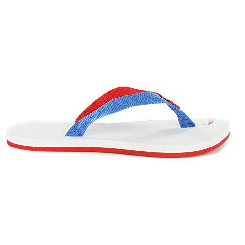 Puma Herren Dedo II Brazil Sommer Strand Flip-Flop- Sandalen-White-40.5