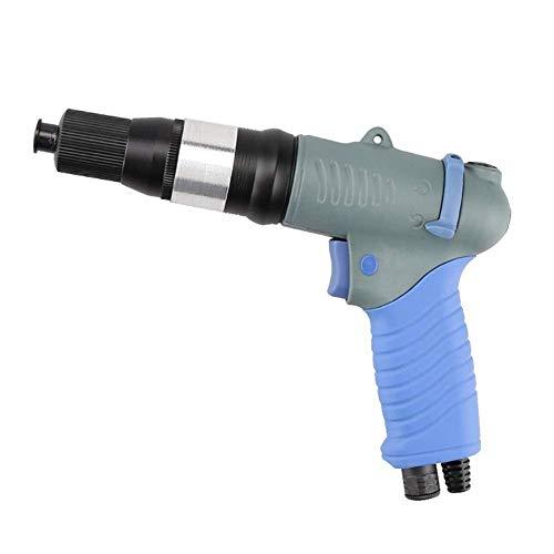 Yongenee Portable Practica Pneumatic Wind Batch, Herramienta de mano de grado industrial totalmente automática destornillador de torsión Herramientas de mano industriales