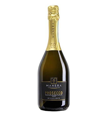 6 bottiglie vino bianco Prosecco Spumante D.O.C. Treviso Dry Millesimato