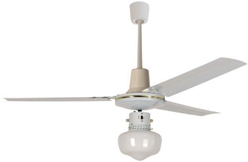 Howell VS1411 Ventilatore a Soffitto con Comando a Muro, 60 Watt, Bianco, 140 cm