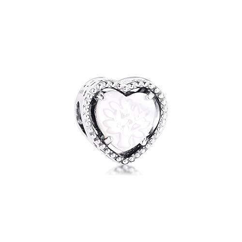 Diy 925 Pandora Colgante Calado Corazón Árbol Genealógico Encanto Se Adapta A Pulseras En La Mano Joyería De Plata Esterlina Tendencia Para Regalo De Madre