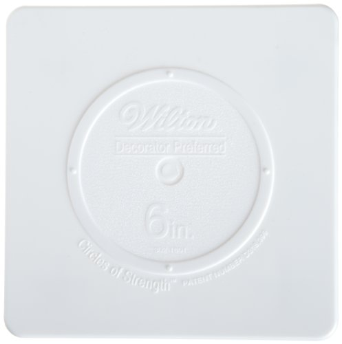 Wilton Brands Decorator Preferred Plaque carrée 15 cm