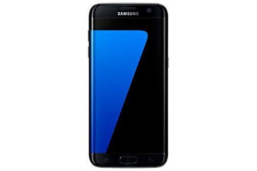 Samsung Galaxy S7 Edge Smartphone débloqué 4G (Ecran : 5,5 pouces - 32 Go - 4 Go RAM - Simple Nano-SIM - Android Marshmallow 6.0) Noir (Reconditionné)