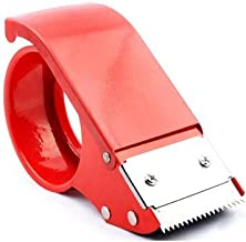 Manual/Handheld Metal Tape Dispenser |Tape Cutter | Easy Mount | Ergonomic Design| Fits 2inch Tape Size | for Packing, Storage, Shipping, Moving Tape