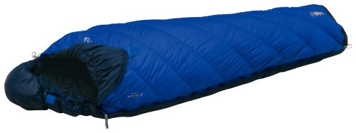 モンベル(mont-bell) 寝袋 バロウバッグ #5 ブルーリッジ 右ジップ [最低使用温度4度] 1121274 BLRI R/ZIP