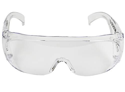 BeBright Gafas de Seguridad, Gafas Protectoras, Gafas de Visita para Uso Industrial, Agrícola o de Laboratorio a Pruebas de Polvo
