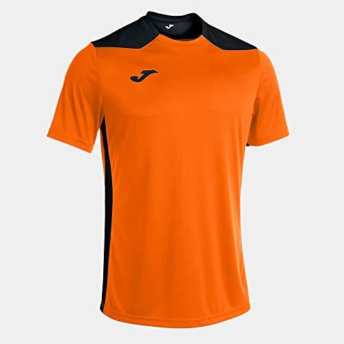 Joma Camiseta Manga Corta Championship Vi Naranja Negro, S