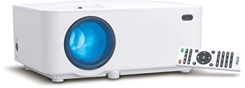 RCA Roku Smart Android Wi-Fi Home Projector, HD, LED