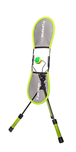 TopspinPro™ Tennis Trainer | Das Original | Topspin in 2 Minuten am Tag lernen | Einzigartiges Tennis Training | Bekannt und bewährt in über 80 Ländern
