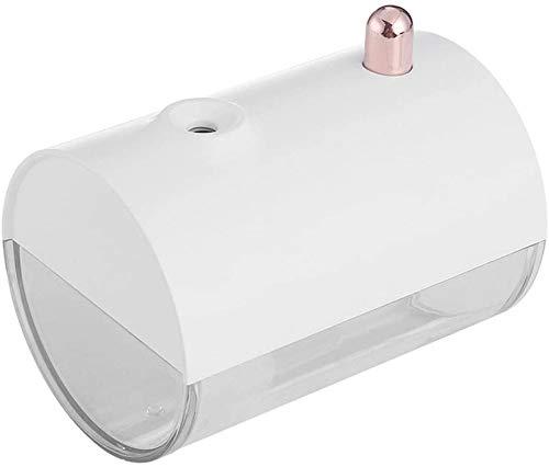 Winter gift usb mini luchtbevochtiger ultrasone aromatherapie sfeer 's nachts licht LED luchtbevochtiger aangepaste auto kantoor slaapkamer spuit diffuser, White dljyy